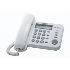 Τηλεφωνική Συσκευή Panasonic KX-TS560EX Λευκή